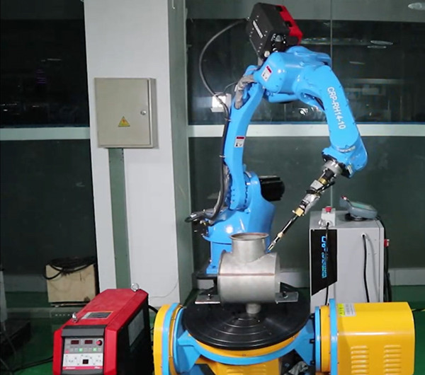 Turin Welding Robot With Positioners Machine[video] - VIDEO CENTER