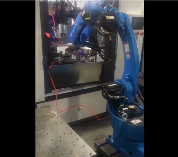 CRP Robot - for CNC machine tool loading and unloading industry