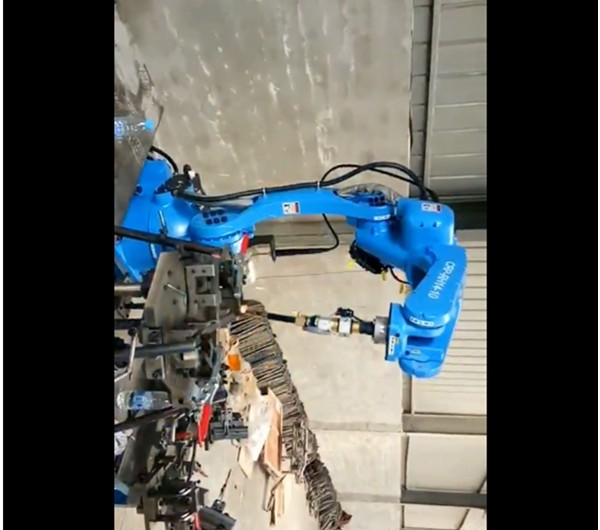 CRP Robot - The customer said that our robot could not reach 80% of the Panasonic robot
