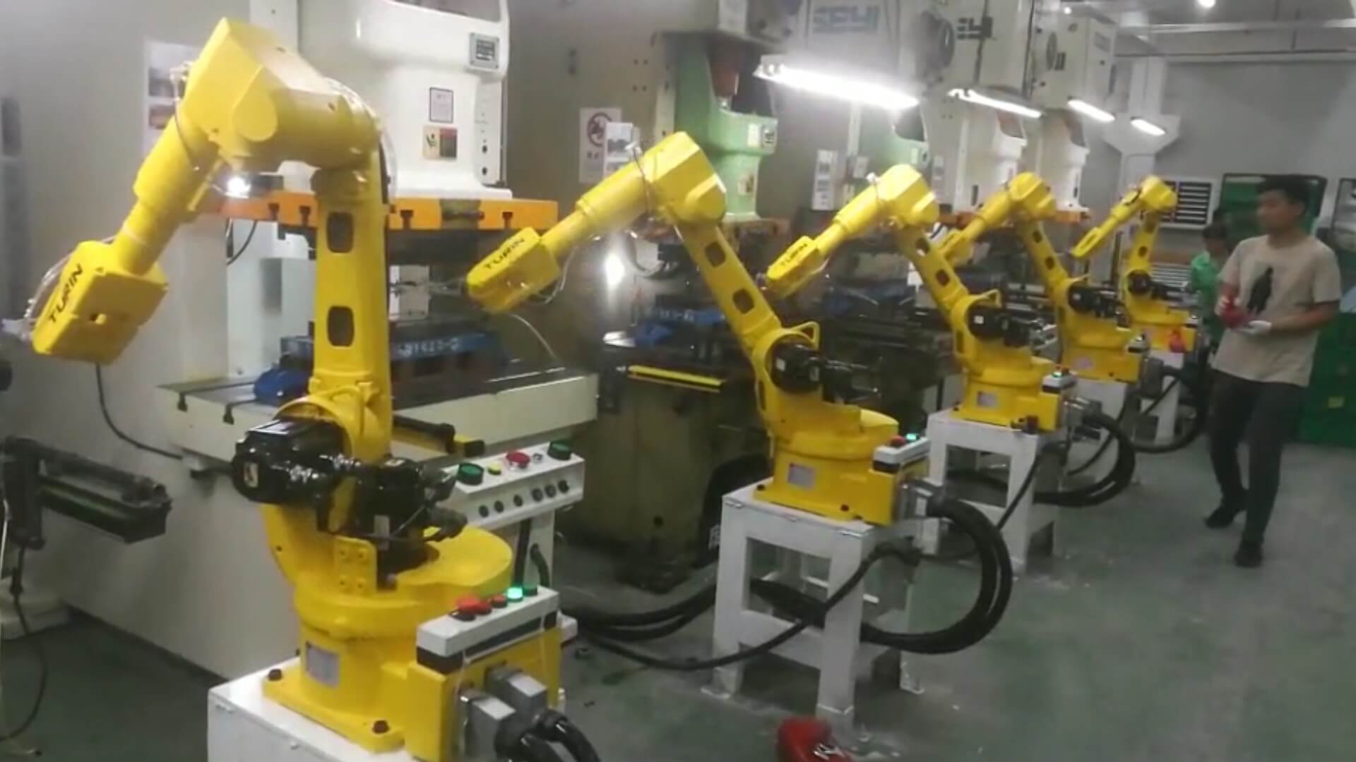 Automatic Robot Arm