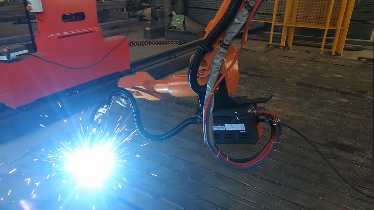 Spot Welding Robot using touch-sense