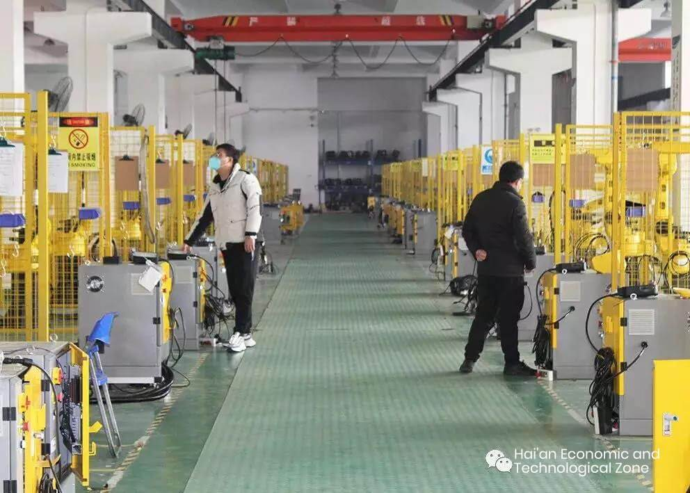 TURN -Chinese leading industrial robot arm manufacturer